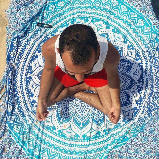🇱🇧 yoga beirut lebanon beach ... (Jbayl, Mont-Liban, Lebanon)