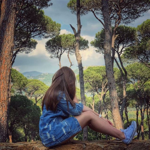 Why not to escape for a while? 🌳🌳🙆📸Photo credits go to @fitwithtina9 �