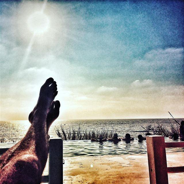 lazyb lazybbeach infinitypool beach beaching sarurday saturdaymood ... (Lazy B)