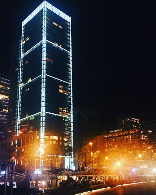 Beirut City 🌃 Lights. beirut lebanon sky travel natgeotravel ... (Beirut, Lebanon)