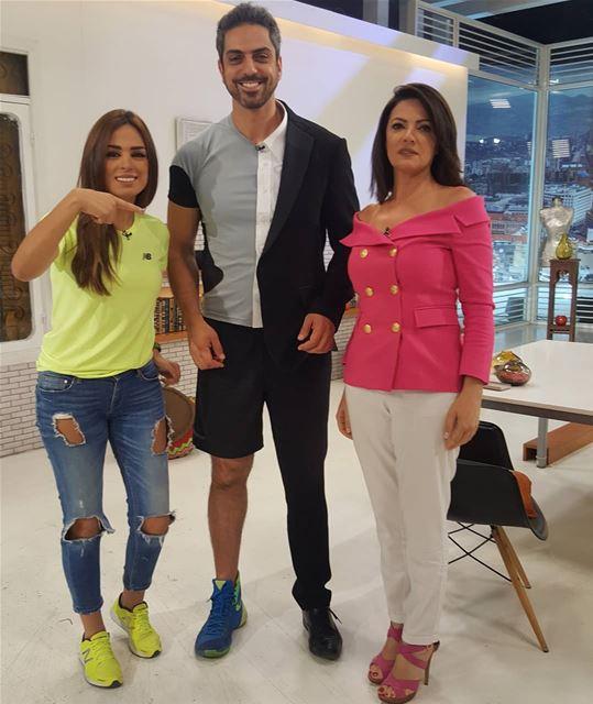 انا الرياضي، أنا المهني، غادة و هبةIt was a pleasure being part of @alamal (Future Television)
