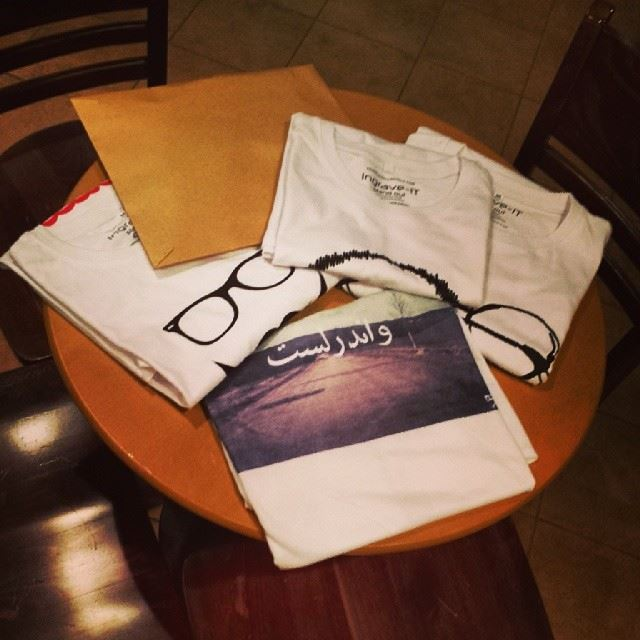 The first batch of Art7ake t-shirts is ready to be sent out. Hooray!