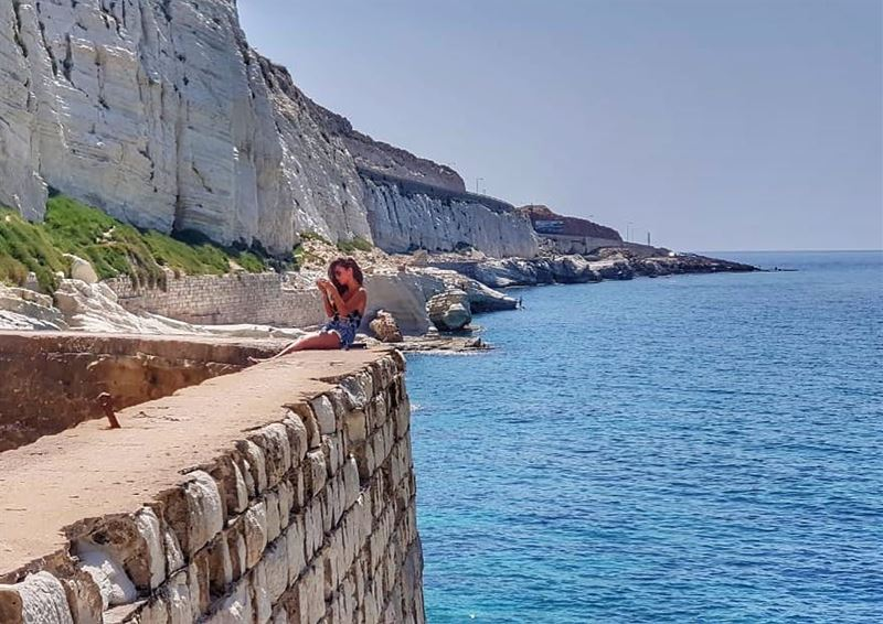 life is a beach 🌊........ livelovesummer livelovelebanon ... (الناقورة / Al Naqoura)