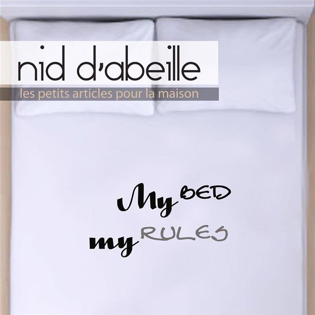 Don t wake me up ☁️Write it on fabric by nid d'abeille  home  linen  soft ...