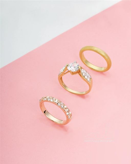 Jewelry Photography rings classic bracelet gold silver pink ...