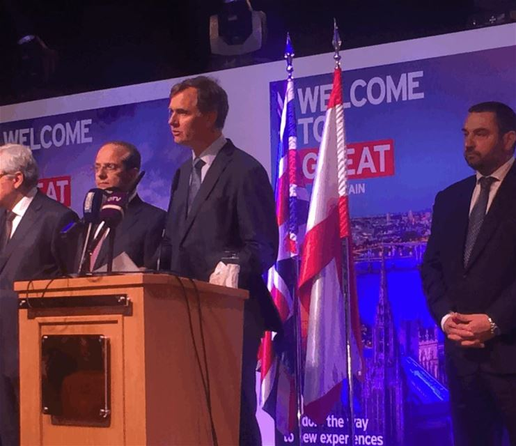 ' GREATBritain.... BeautifulLebanon' at the Queen's Birthday Party....