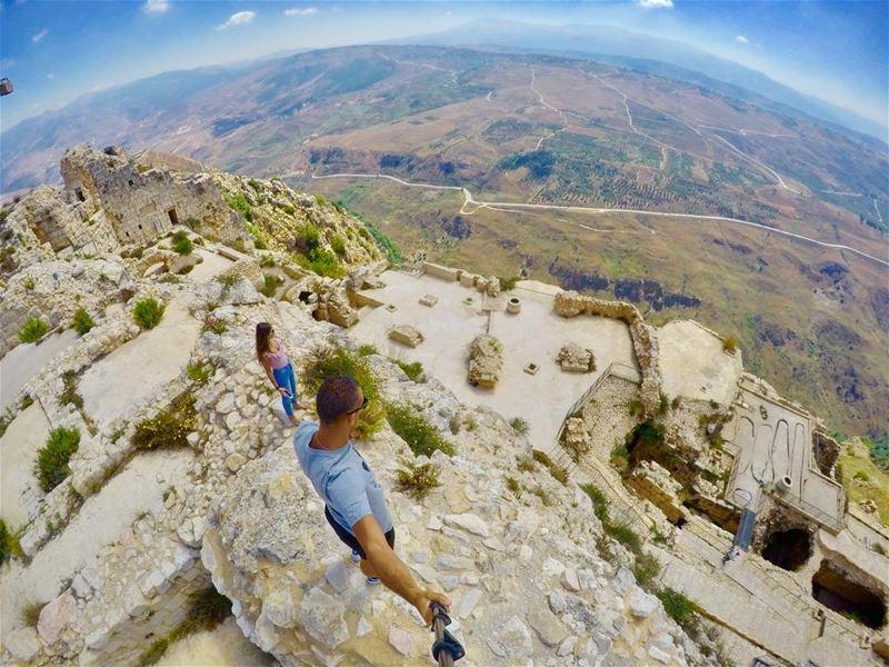 🔝........ explorelebanon lebanon gopro goproboss goprorealm... (Beaufort Castle, Lebanon)