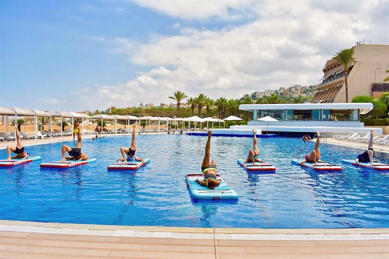 - PICTURES PART 3 -YOGA | PILATES | HIIT—• Our FITMAT program is suited... (Halat, Mont-Liban, Lebanon)