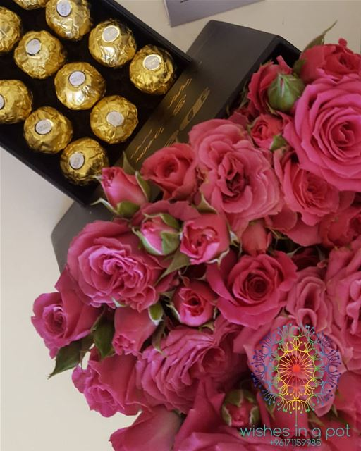 Drawer box  roses &  chocolate oder it now: 71159985 Wishesinapot ...