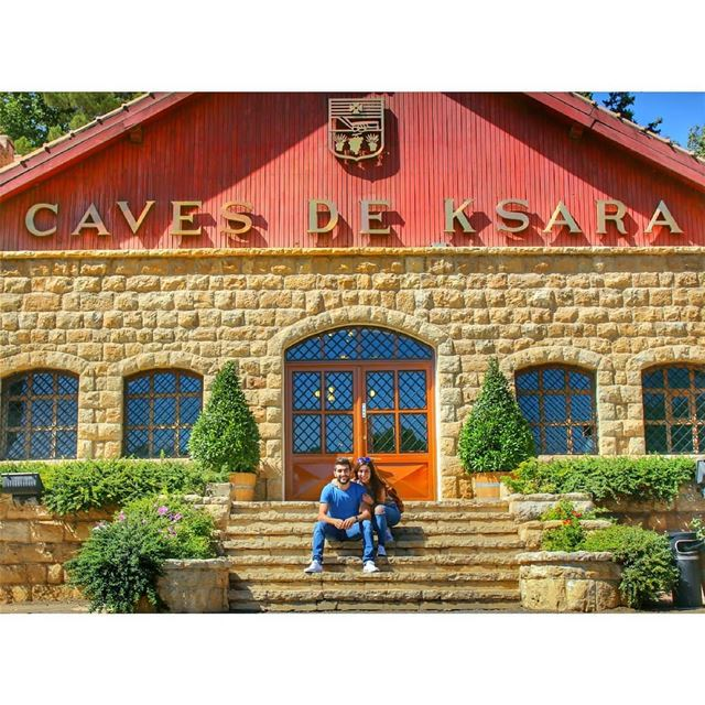 Cave de Ksara! livelovelebanon livelovebekaa chateauksara ... (Château Ksara)
