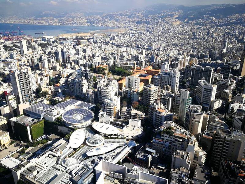 Concrete nation.......... travelawesome exploretheglobe ... (Beirut, Lebanon)