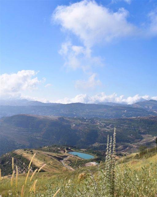 لبنان يا قطعة سما 🇱🇧🎼💙________________________________________... (Qanat Bakish, Mont-Liban, Lebanon)