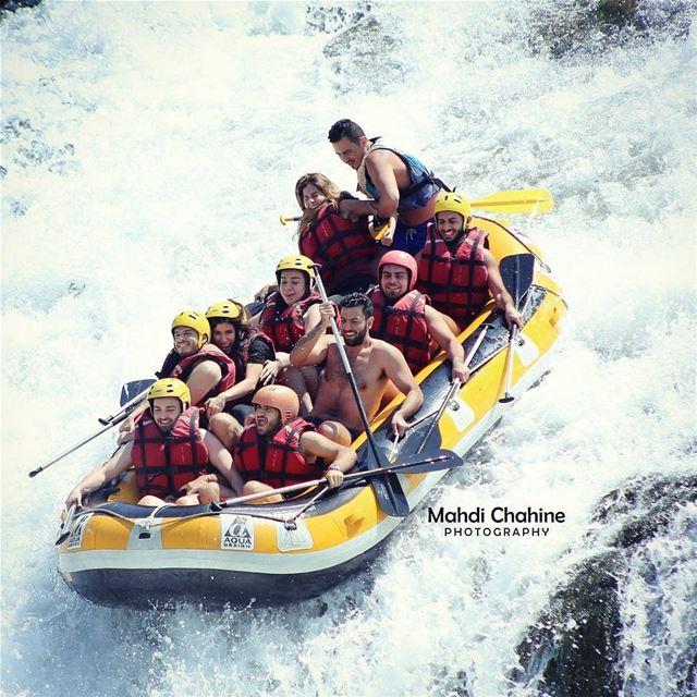 Summer vibes by @mahdichahine via @dardara_cascade rafting raftingtrip ... (El Hermel, Béqaa, Lebanon)