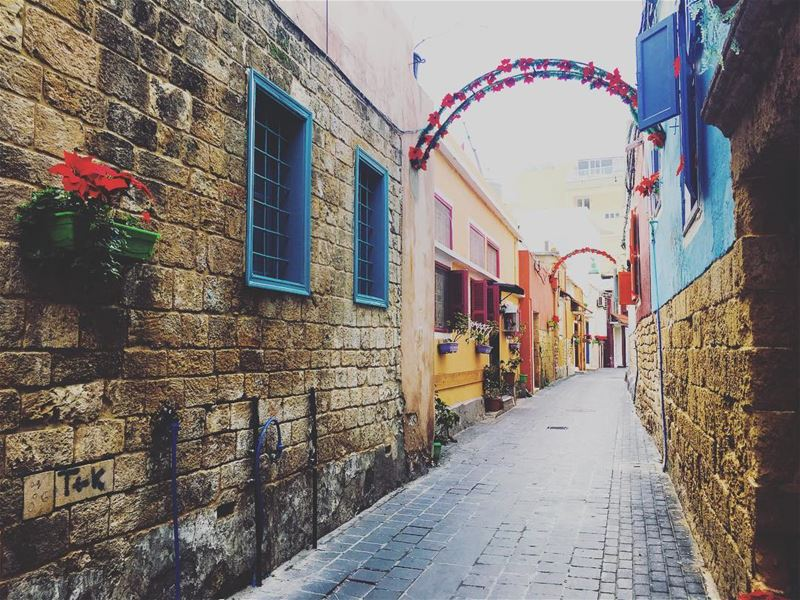 The Beautiful & Charming Tyre. tyre sour oldtown lebanon ... (Tyre, Lebanon)