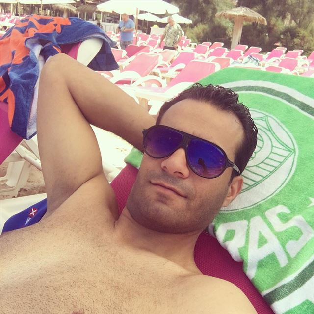 Selfie time 🤳 relax sea beach eddesands lebanon summer2018 bronze... (Eddésands Hotel & Wellness Resort)