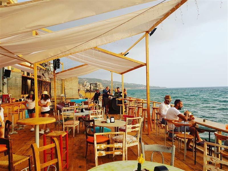 batroun @boho.bar.batroun kfarabida البترون_سفرة boho beach bar ... (Boho Bar Batroun)