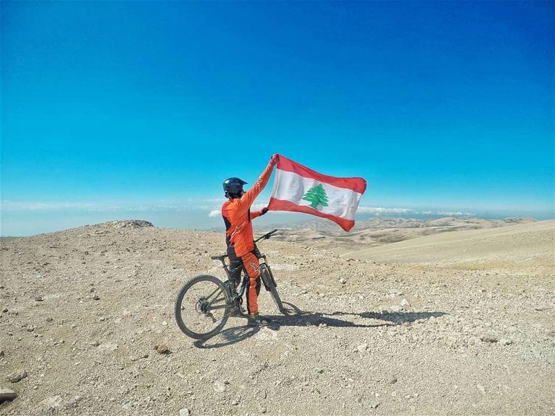 My pride My flag My lebanon 🇱🇧🇱🇧..... (Qurnat as Sawda')