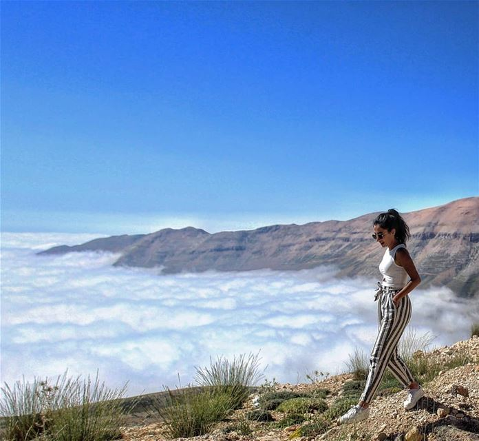 All of us have a place in history. Mine is above the clouds 🔝 (El Arz, Liban-Nord, Lebanon)