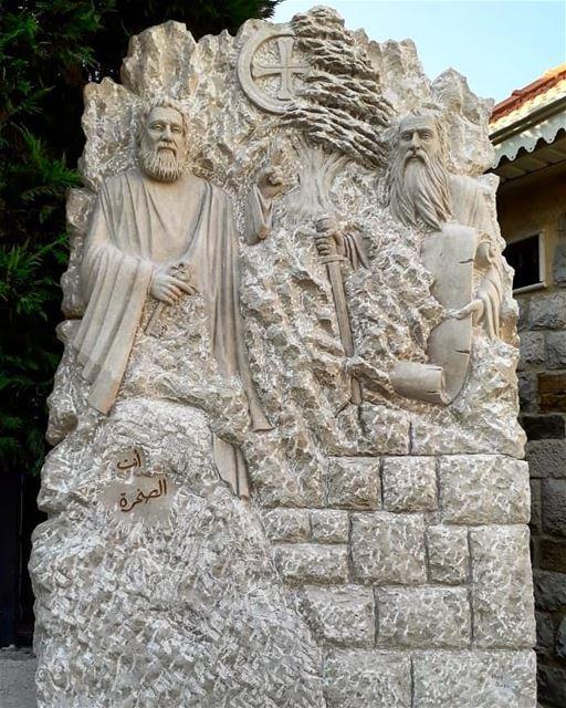 Saint Peter and Paul___ nayef_alwan sculptor artist lebanese lebanon...