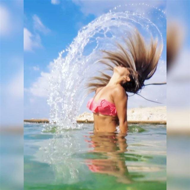 The ocean roar is music to the soul ... (Naqoura)