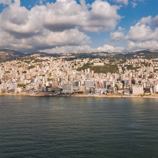 My sunset view.... AboveLebanon Lebanon LiveLoveBeirut ... (Lebanon)
