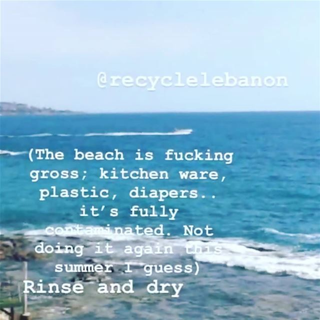 Day 1 of  plasticfreejuly. Challenge yourself to  breakfreefromplastic and... (Batrun, Liban-Nord, Lebanon)