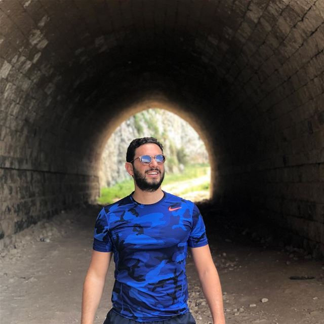 Is it the Light at the End of the Tunnel? ExploreWithChris.. followme ... (Hamâte, Liban-Nord, Lebanon)