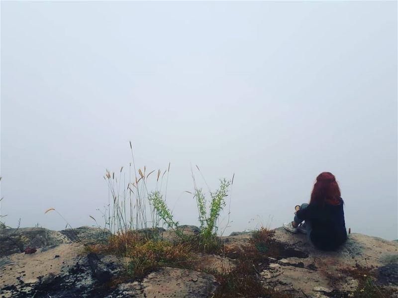 .... lebanon beautifullebanon ig_lebanon fog mist hike hiker ...