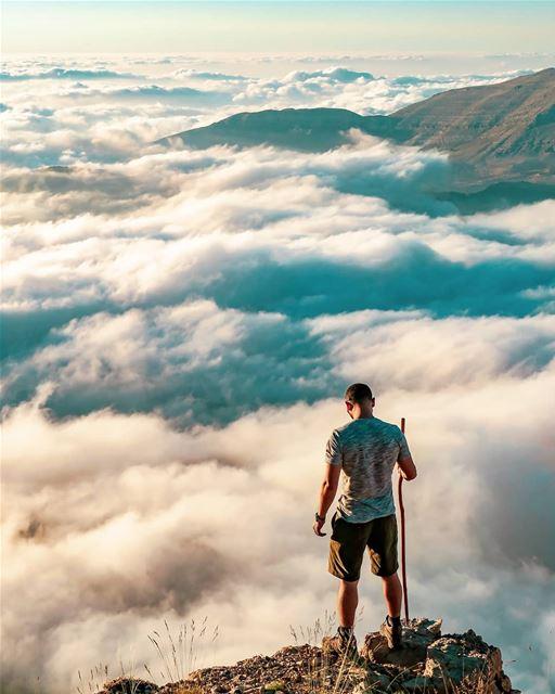 أشتاق لخالقٍ من عدمٍ يدعو الأشياء📸 June 30, 2018 hiking hiker ...