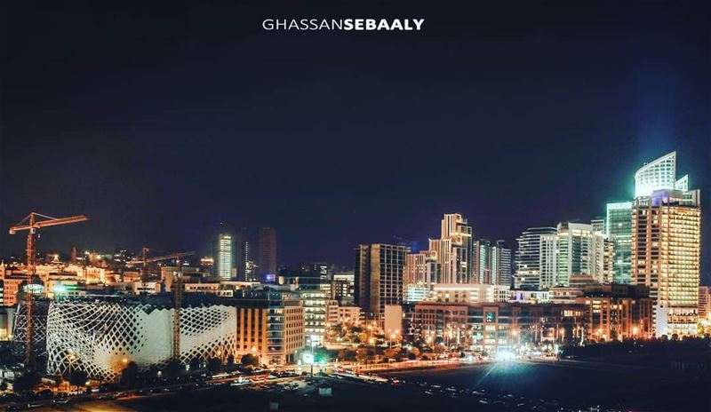 Beirut Skyline 🌆 beirut lebanon landscape photography droneoftheday... (Beirut, Lebanon)