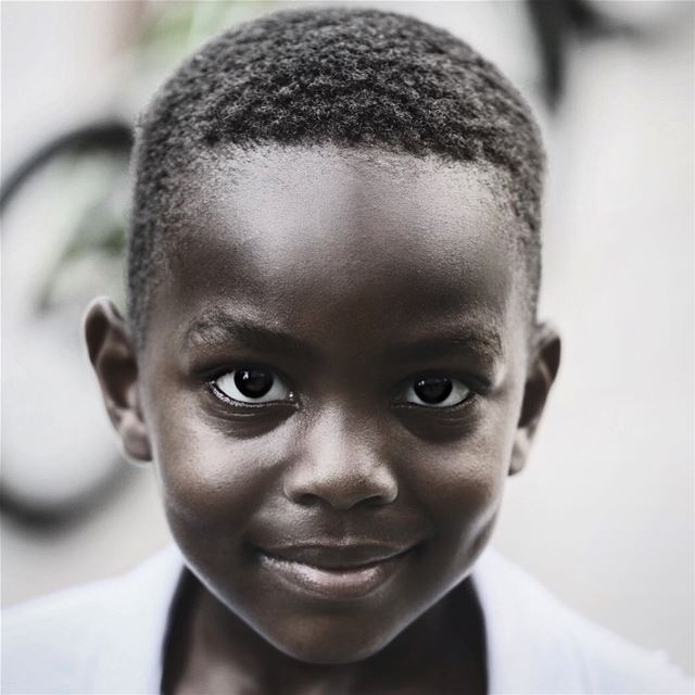 Tansim the photogenic kido photogenic african portrait happy kid ... (Lebanon)
