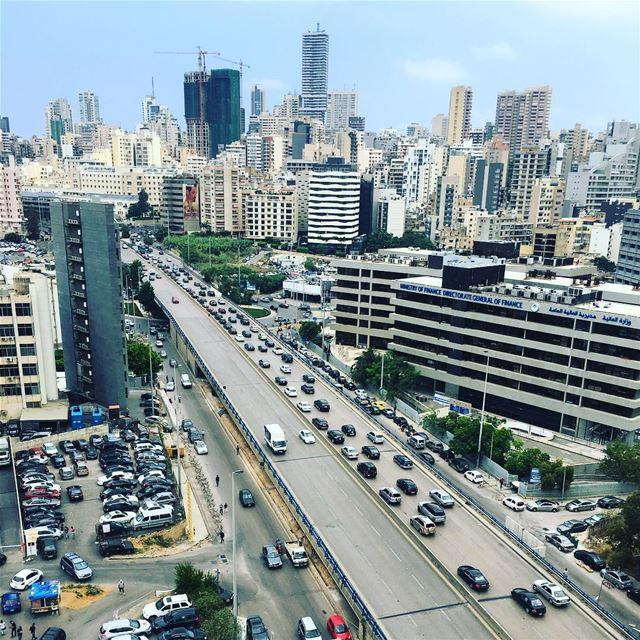 On Wednesdays... We Go To Work. beirut lebanon sky travel ... (Beirut, Lebanon)
