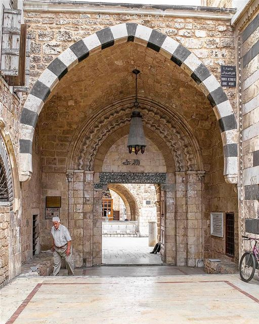 """""""The Great Mosque"""" of Tripoli, built in the Mamluk period, from 1294 to... (Tripoli, Lebanon)"""