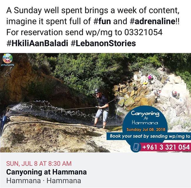 HkiliAanBaladi LebanonStories tourism tours livelovehammana ✌🏼️ ... (Hammana)