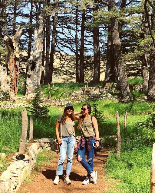Best friends since 1994..👩❤️👩 whatworksformaya sisterlove ... (Cedars of God)