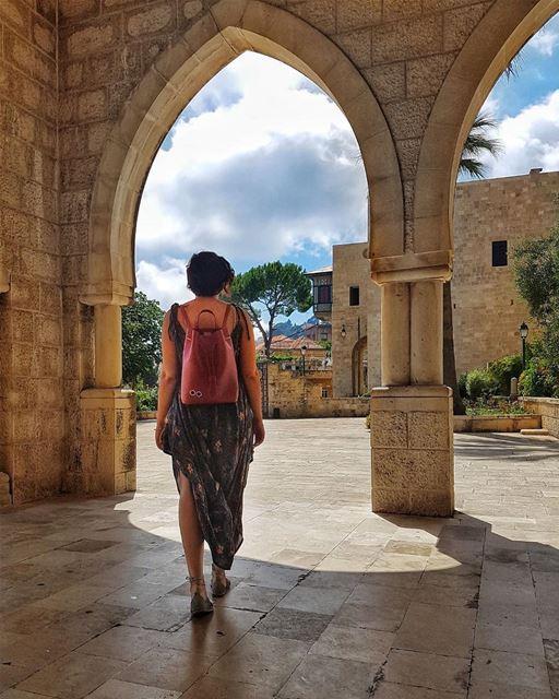 Beautiful Chouf. Summer staycations make for the best memories. ❤️ ... (Deïr El Qamar, Mont-Liban, Lebanon)