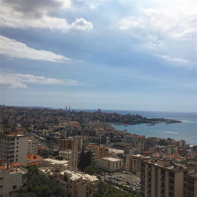 The teleferique view 🚡👀————————————————— thursday view from thetop ... (جونية - Jounieh)