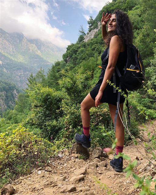 أَوف buzzin Lebanon mountain trail hike nature outdoors trek ... (Lebanon)