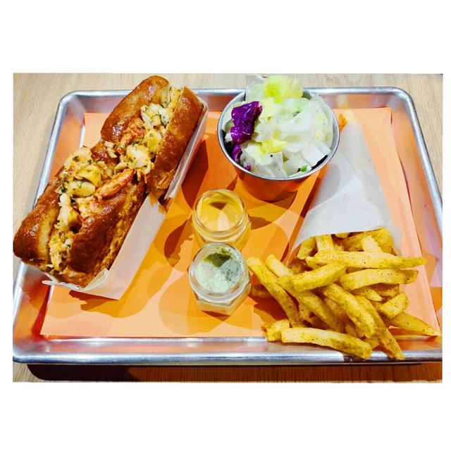 Craving for this lobster roll at 3:00 am 🙄--- TakeMeTo marmikhael... (Lobster Society)