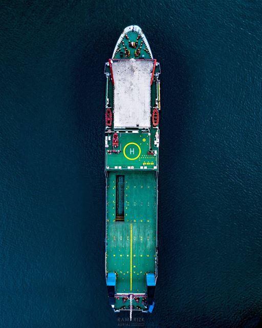 Let's sail away🚢... lebanon mediterraneansea dji drones ... (Mediterranean Sea)