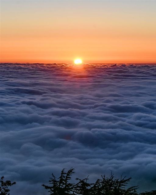Last moments of sunlight | No, this photo isn't taken from an Airplane!... (Arz el Bâroûk)