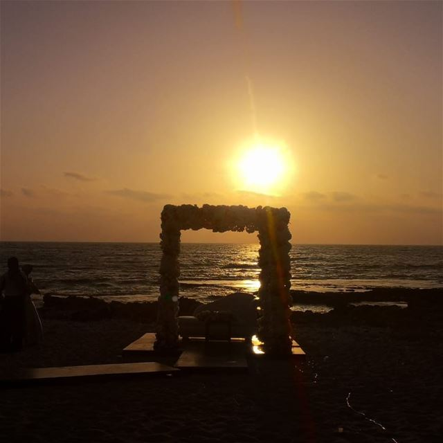 tyre sunset love luv instagood instapic fun nature colors sun ... (Tyre, Lebanon)