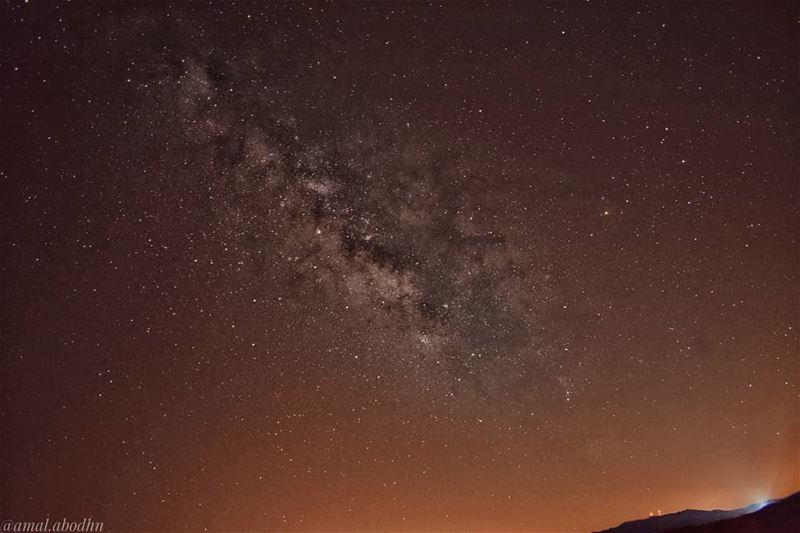 كلما اشتدت ظلمة الليل،، أصبحت النجوم أكثر تألقا.. lebanon photography ... (شويا - Hasbaya)