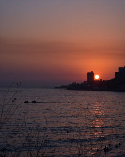 There is something strange about Sunday  Sunsets... maybe it's cause they... (Jounieh)