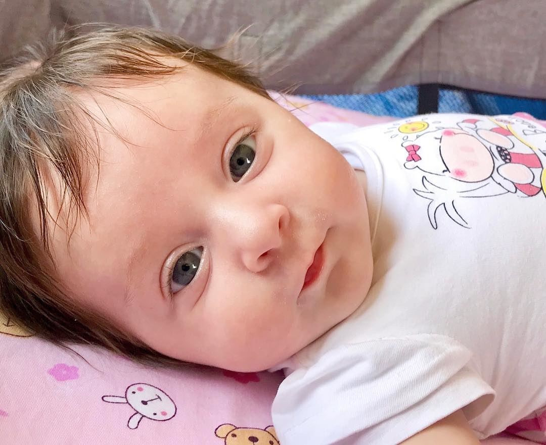 Morning ❤️ lebanon batroun chloe mydaughter love cute cutebabies ... (Batroûn)