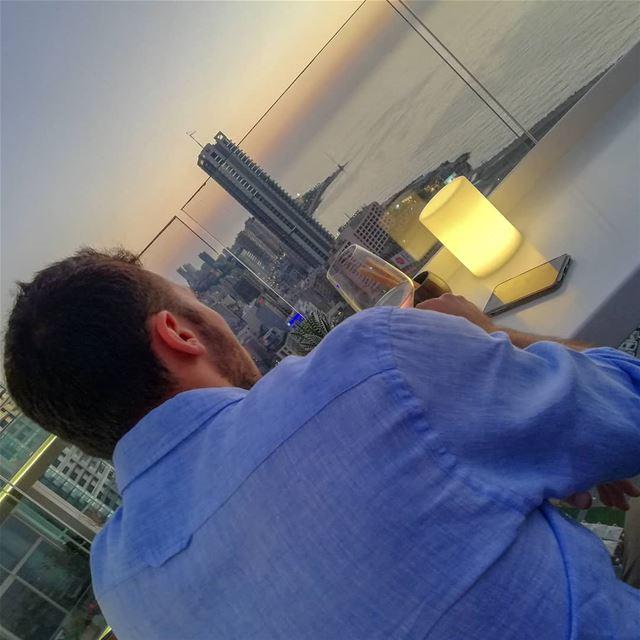 🇱🇧🌅 fsbeirut sharemyfs theroof sunset chasingsunsets summer ... (Four Seasons Hotel Beirut)