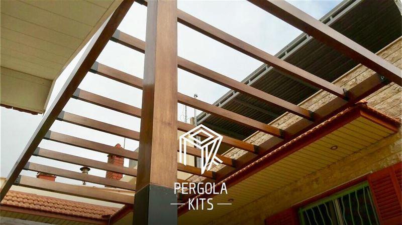 Standard Attached Pergola Kits. PergolaKitsLebanon in Jbeil, Byblos📍.... (Jbeil-Byblos)