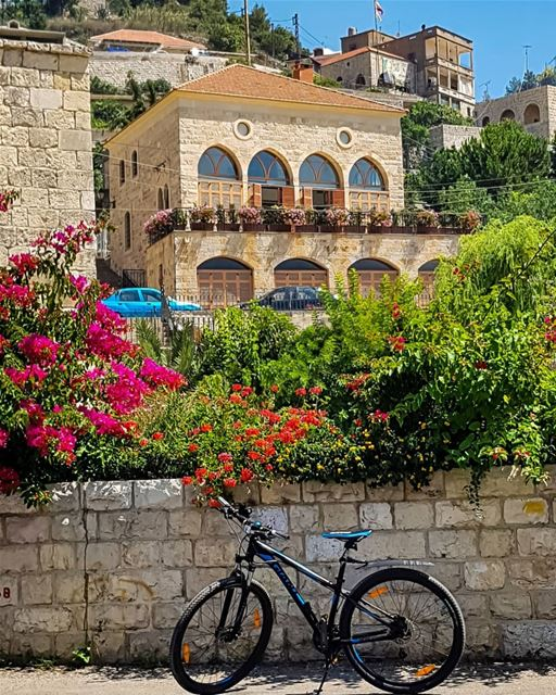 In the mood of Sunday..And the motivation of Monday..🍃 hello monday... (Dayr Al Qamar, Mont-Liban, Lebanon)