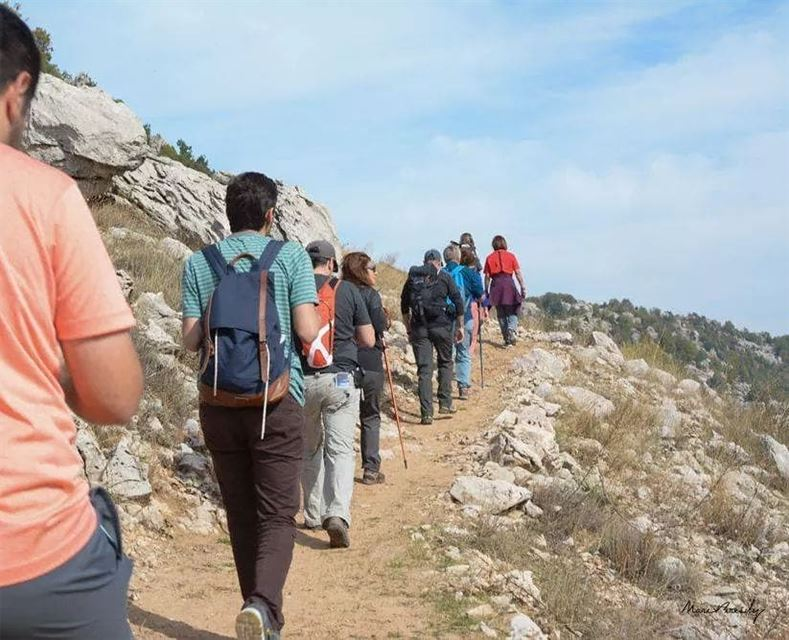"""Walking: the most ancient exercise and still the best modern exercise."" ... (Jabal Moussa Biosphere Reserve)"