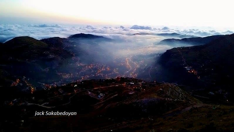 Faraya after Sunset farayalebanon faraya farayalovers ...